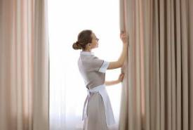 Dịch vụ giặt rèm cửa