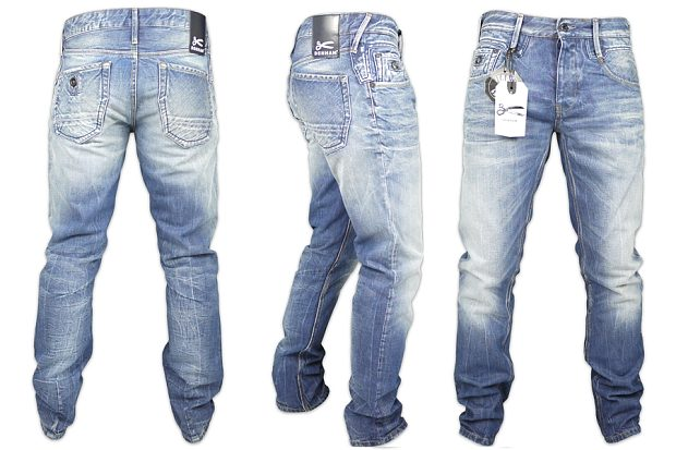 Mẫu stonewash của Denham Jeans