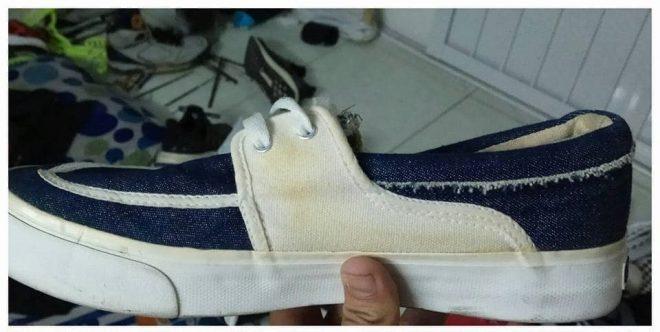 giatgiay1 Hướng dẫn cách giặt giày vải trắng sạch sâu không ố