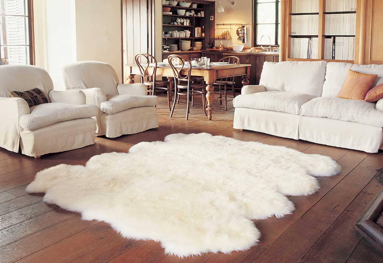 Cách giặt thảm lông cừu
