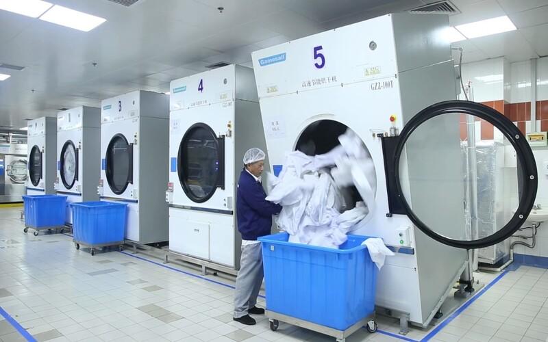Dịch vụ giặt là tại Nghệ an