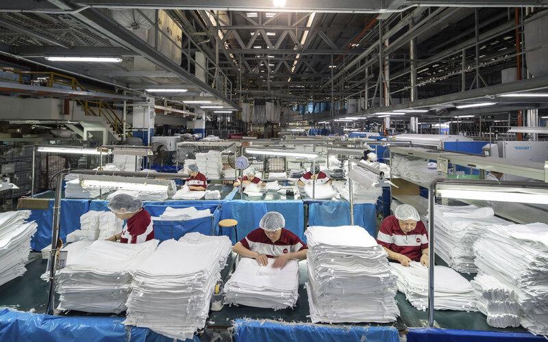 Dịch vụ giặt là tại quận Hoàng mai