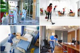 Dịch vụ vệ sinh, vệ sinh công nghiệp giá rẻ tại quận hai bà trưng
