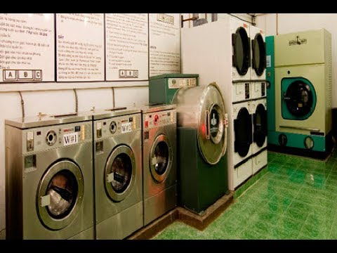 Hệ thống máy hấp cao cấp tại thế giới giặt sấy