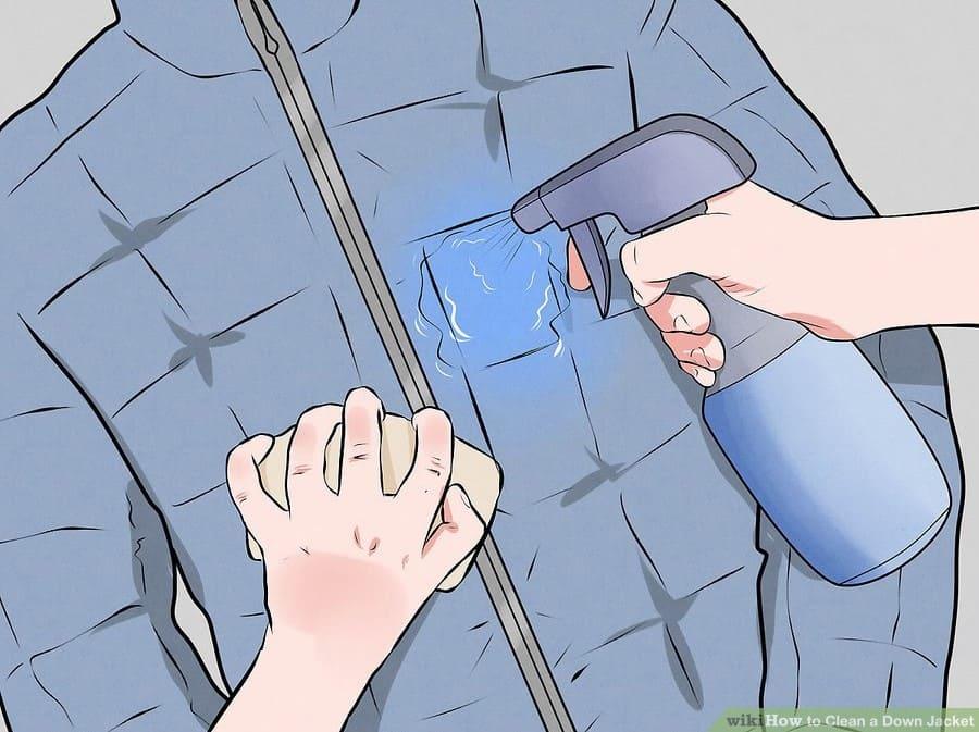 cách giặt áo phao bằng tay tại nhà